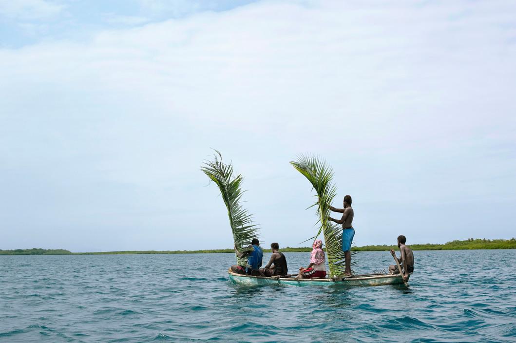 Vanuatu. Off the shore of Malekula. 2014