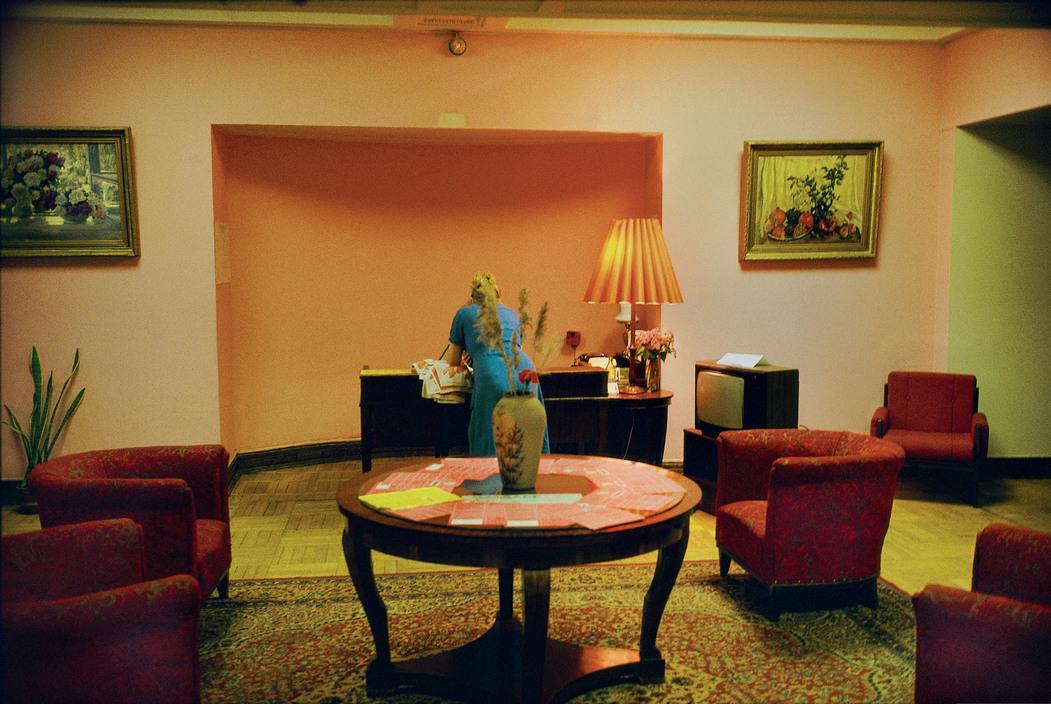 RUSSIA. Moscow. Ukraine hotel. 1989.