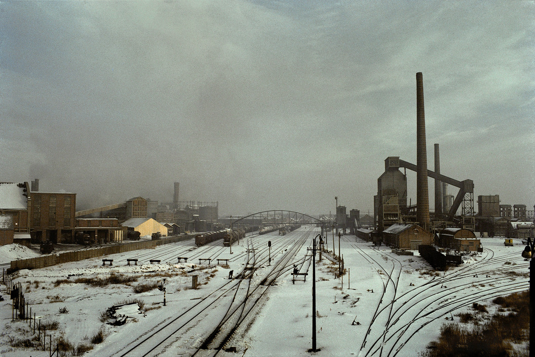 BELGIUM. Flanders region. Town of Boom. 1988. Industrial area.