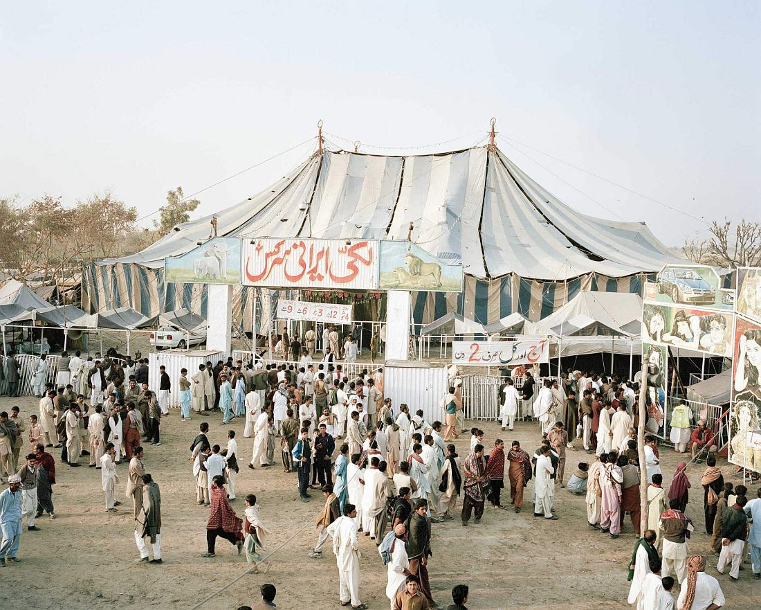 Lucky Irani Circus in Khanpur, Sindh