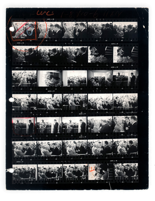 CONTACT SHEET. Russia. Moscow. 1959.