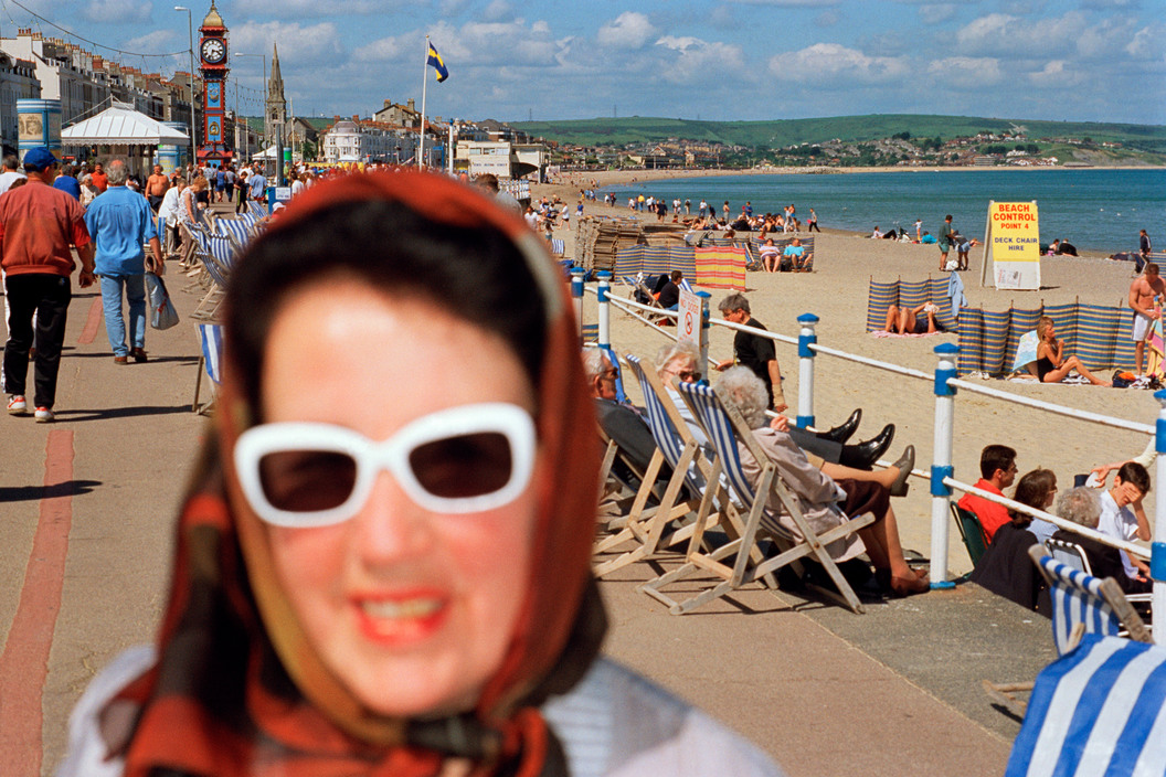 GB. England. Weymouth. From 'Think of England.' 2000.