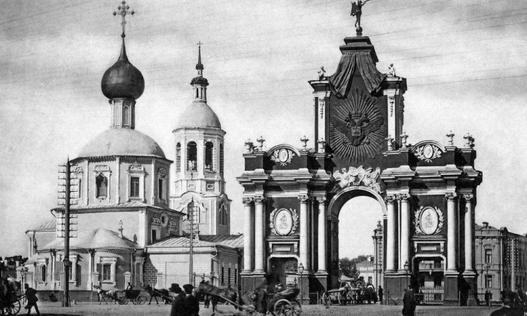 Moscow in the past (1800s)