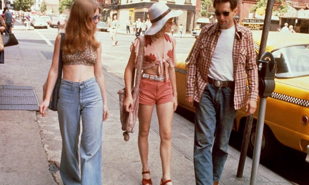"Behind the scenes: Jodie Foster on the set of ""Taxi Driver"" (1976)"