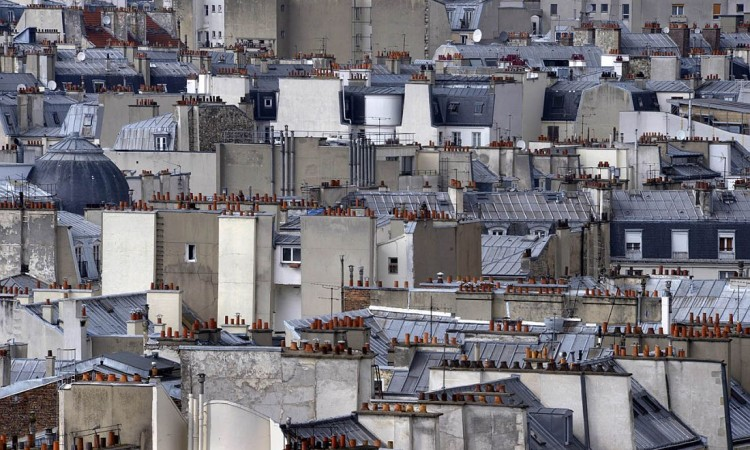 Michael Wolf: Paris Rooftops