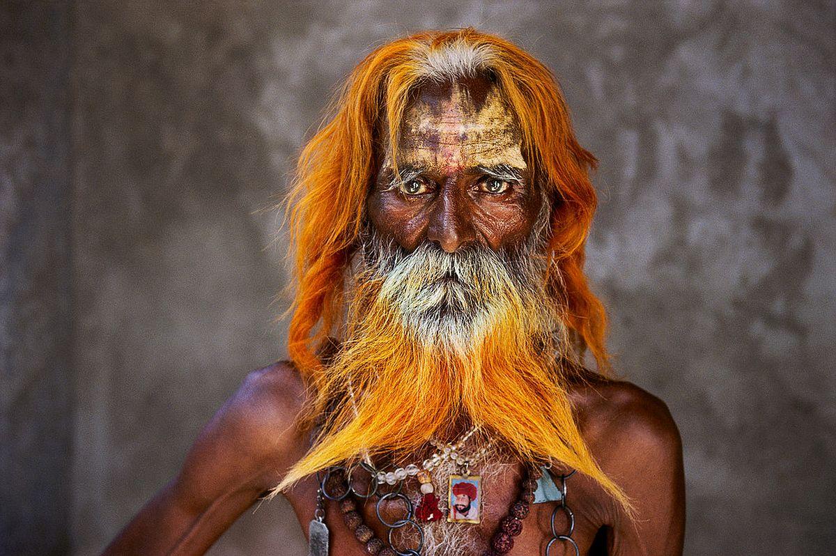 INDIA. 2010. Rabari Tribal elders. (From McCurry's last roll of Kodachrome.)