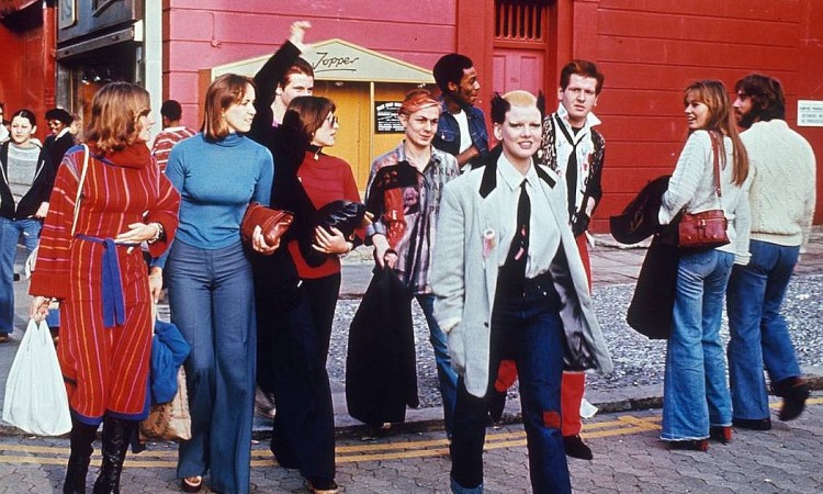 Colourful Life of London in the 1970s