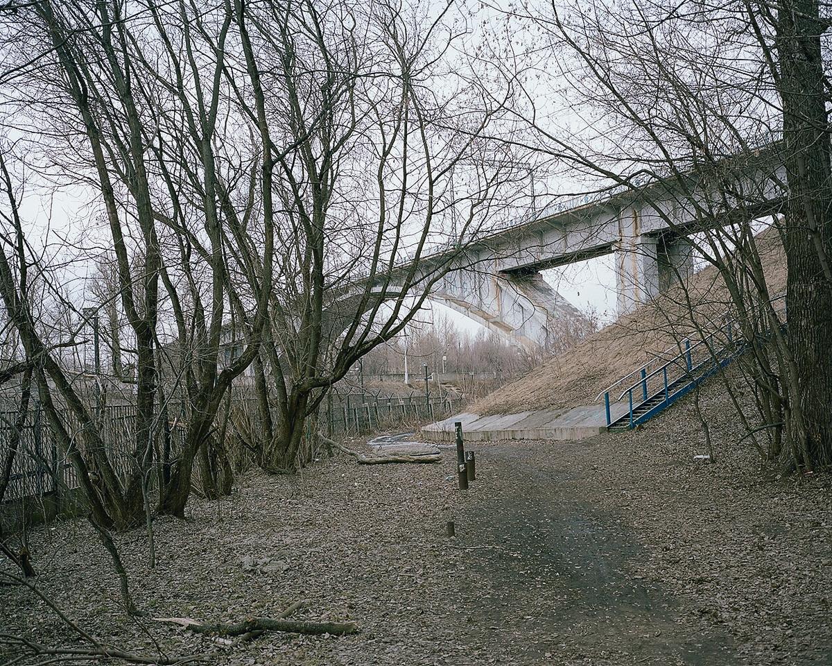 Bridge under the lock ¹8