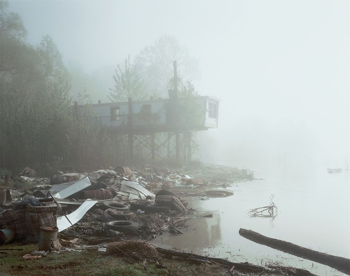 from Petrochemical America, photographs by Richard Misrach, Ecological Atlas by Kate Orff (Aperture 2012).