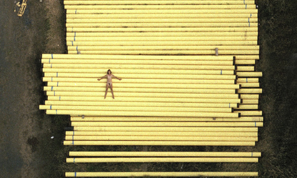 John Crawford: Aerial Nudes