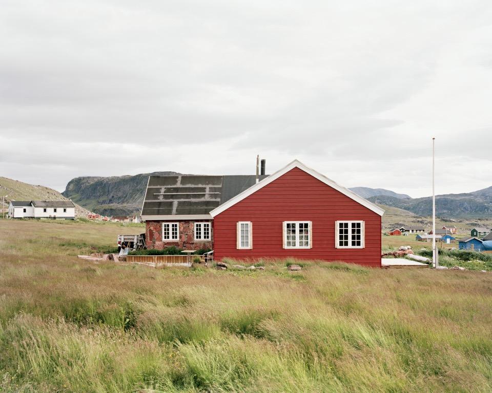 """Igaliku Home, Greenland, 2014, C-print, 24""""x30"""" © Jessica Auer"""