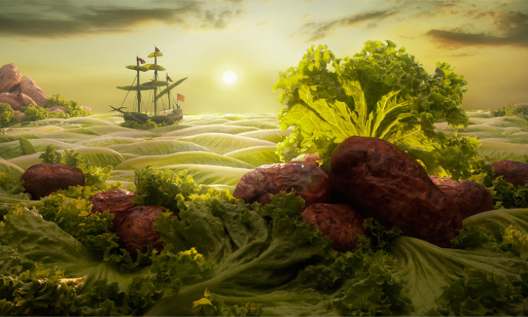 Carl Warner: Foodscapes