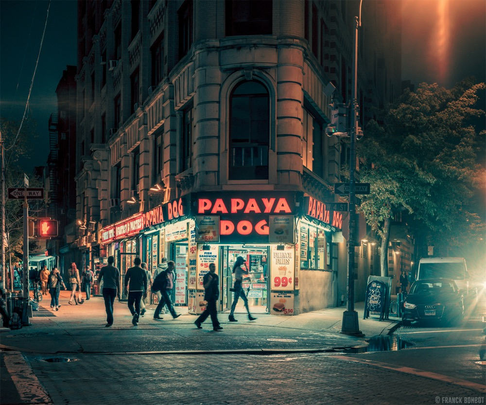 Light On Serie © Franck Bohbot