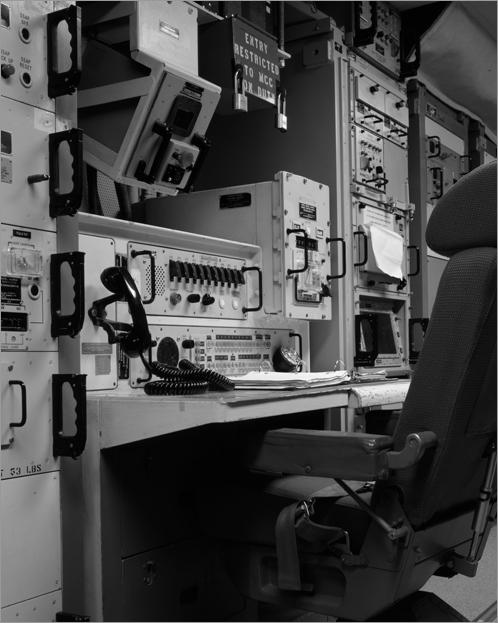 Deputy Commander's Station, Minuteman II Bunker 1965