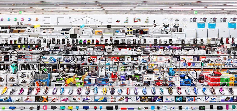 Mediamarkt, 2016 © Andreas Gursky