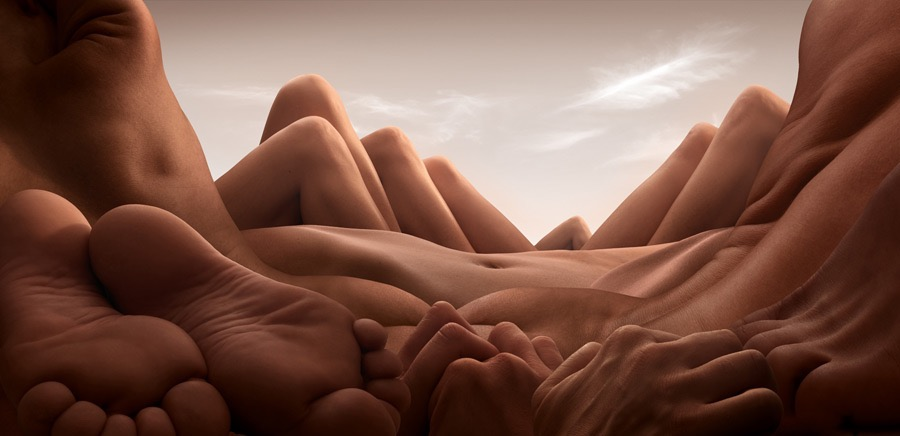 Body Landscapes © Carl Warner