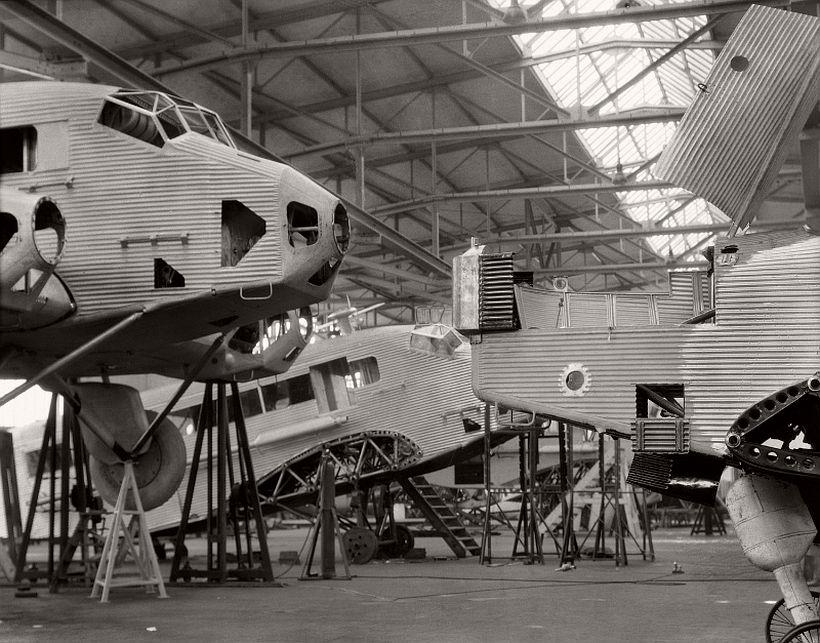 Junkers Werke, Dessau, 1928