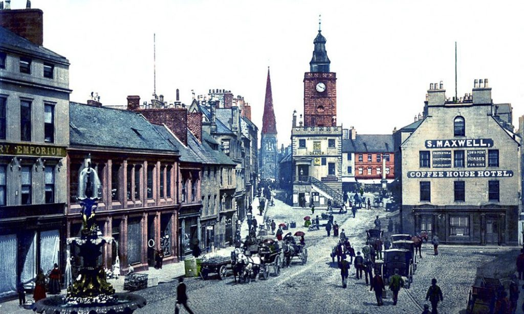 Photochroms of Scotland from 1890s