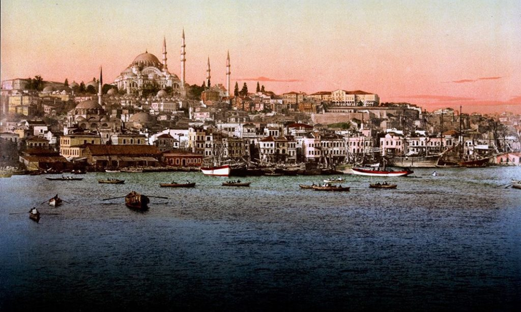 Photochroms of Istanbul from 1890s