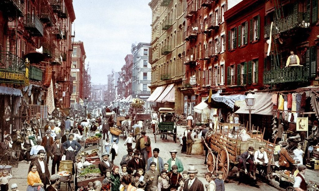 Photochroms of New York City from 1900s