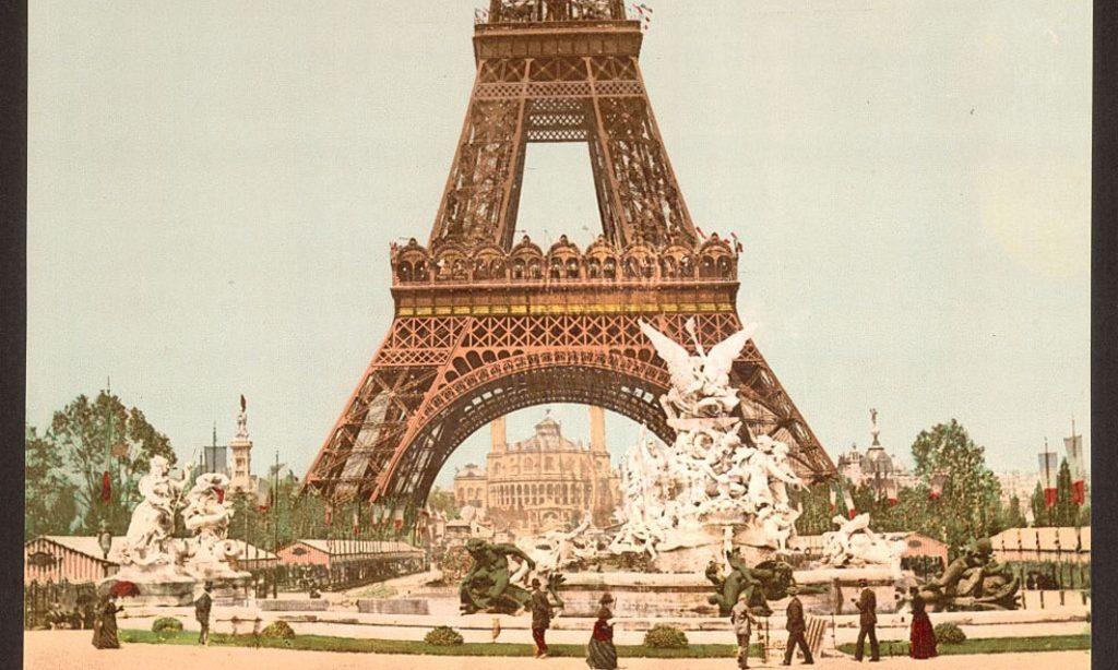 Photochroms of Paris (1890s – 1900s)