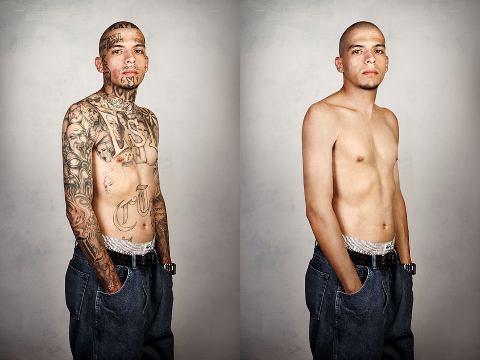 Skin Deep - Looking Beyond the Tattoos © Steven Burton