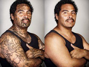 Skin Deep - Looking Beyond the Tattoos © Steven Burton