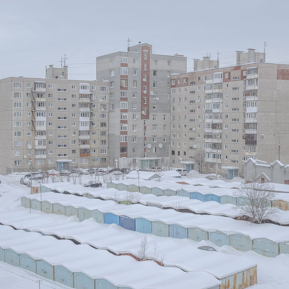 Melting Cities © Egor Kirillov